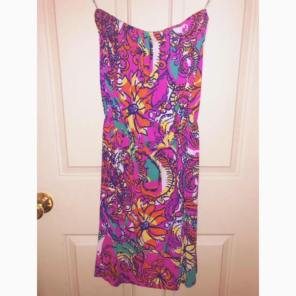 Lilly Pulitzer Dresses & Skirts - Lilly Pulitzer XS strapless swing dress